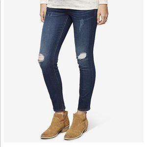 Maternity Jeans- led Luxe Essential